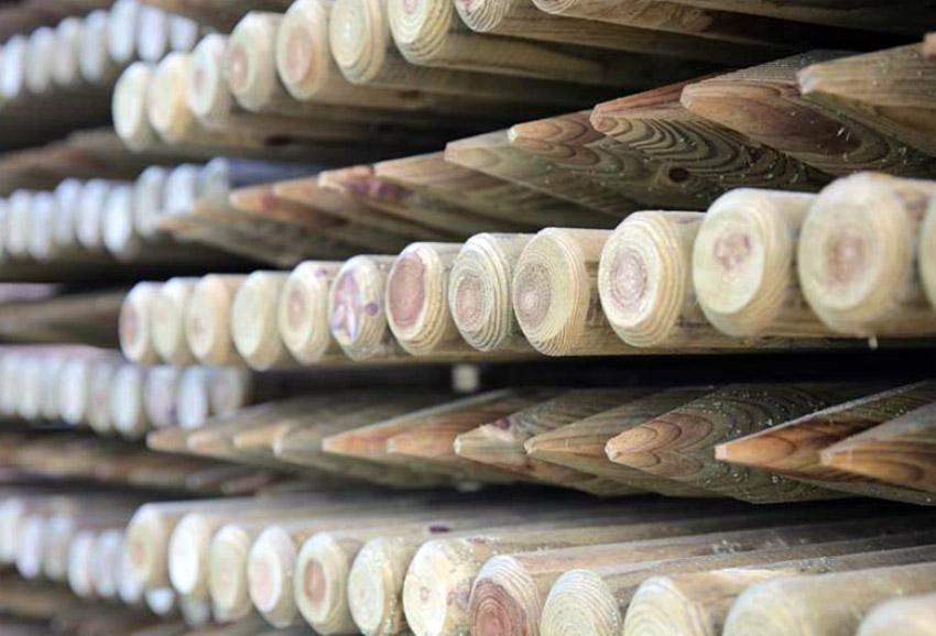 Prodotti in legno trattato