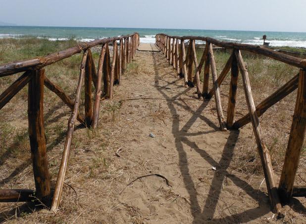 Accesso al mare, Maremma