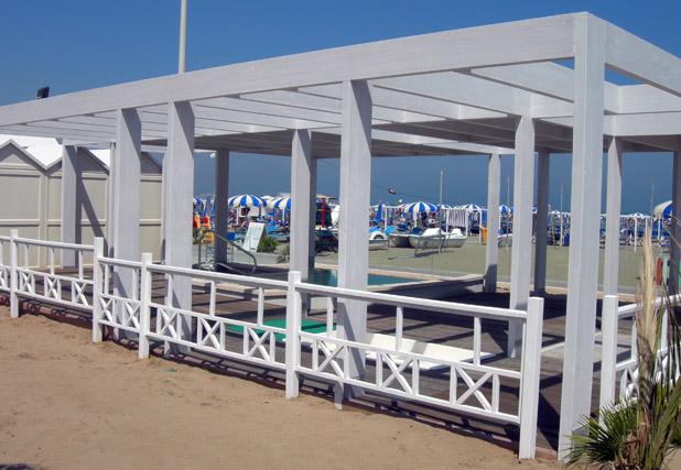 Struttura balneare Gabicce Mare